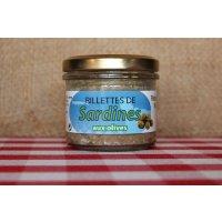Rillettes de sardine aux olives