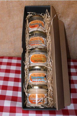 Coffret Gourmand au Saumon