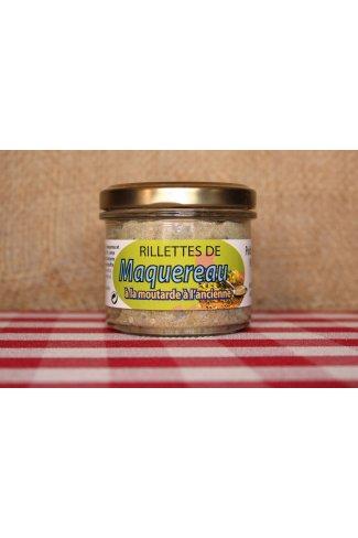 Rillettes de maquereau à la moutarde à l'ancienne