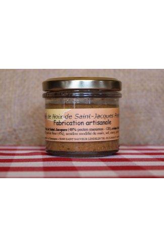 Rillettes de Noix de Saint-Jacques Pomme-Miel