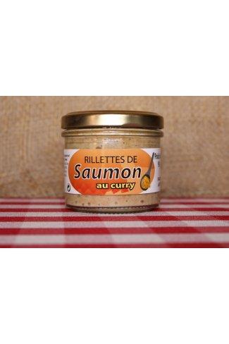 Rillettes de saumon au curry