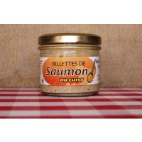 Rillettes de saumon au curry