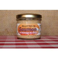 Rillettes de Saumon au fromage de chèvre