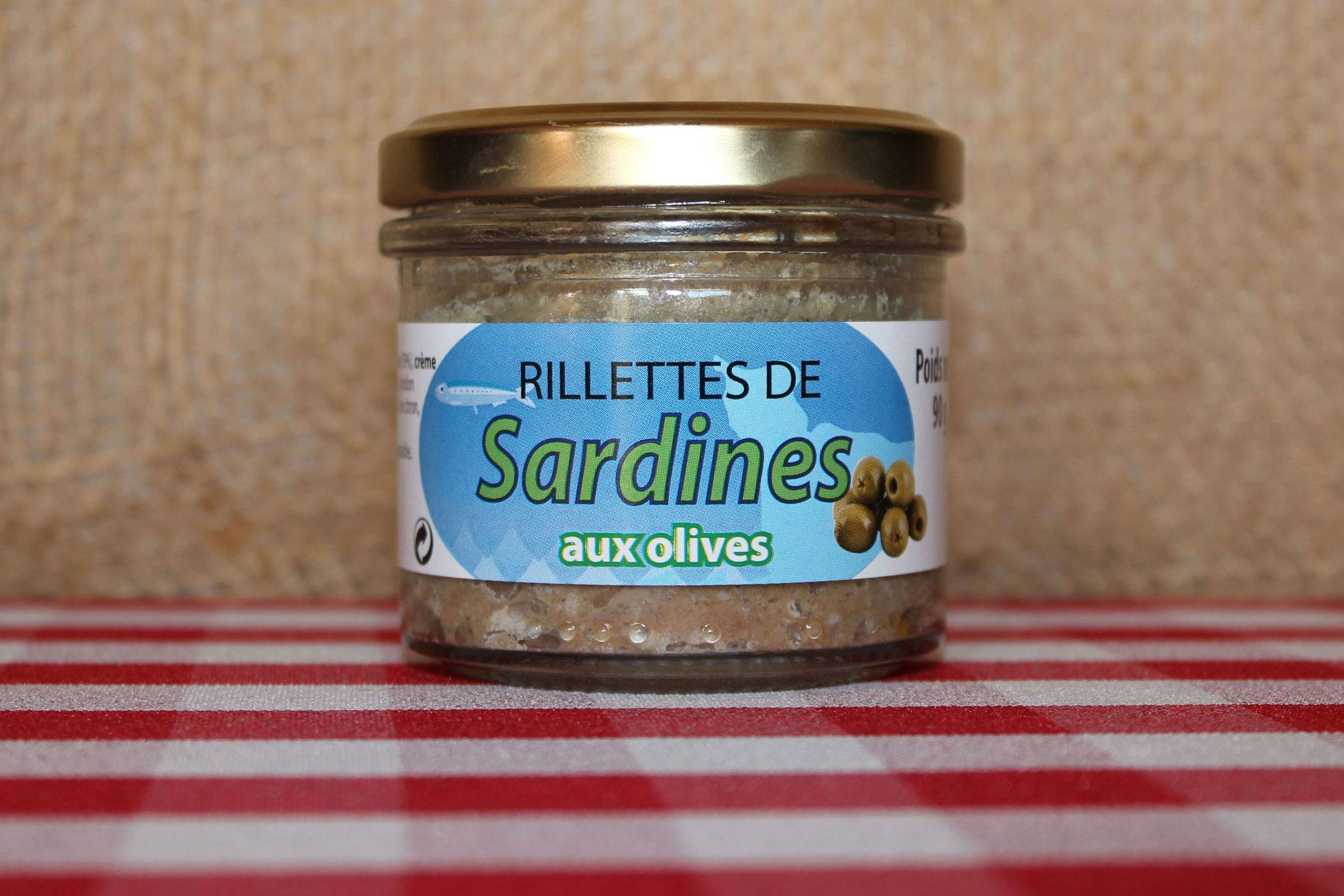 Rillettes de sardine aux olives conserve maison saint lo - Conserve de sardines maison ...